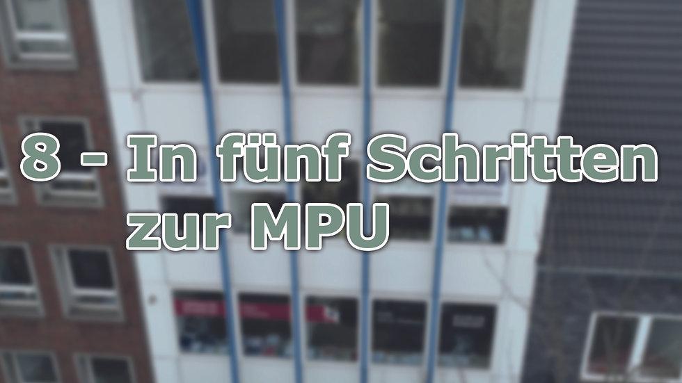 8 - In fünf Schritten zur MPU