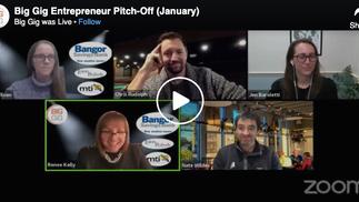 Big Gig Entrepreneur Pitch-Off (January)