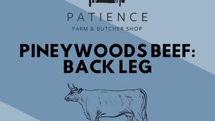 Butcher Day: Pineywoods Beef, Back Leg