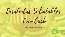 Taller Ensaladas Saludables Low Carb