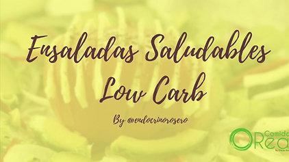 Taller Ensaladas Saludables Low Carb