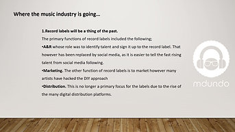 The Future of Music Industry