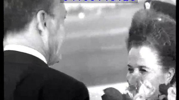 Zalman Greeting Frank Sinatra 1960s