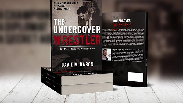 The Undercover Wrestler Book Trailer