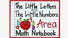 Math Notebook Area