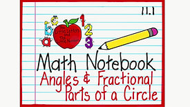 Angles - Fractions to Degrees