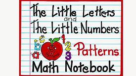Math Notebook Patterns