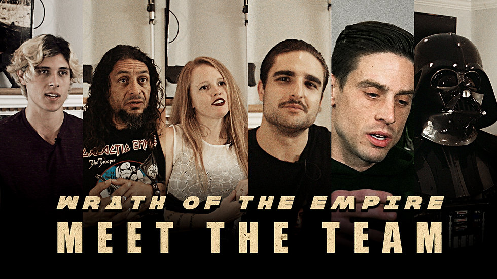 Meet the Team - How Has Star Wars Inspired You? | Wrath of the Empire