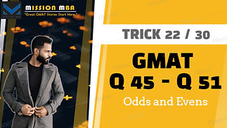 Trick 22 Odds and evens