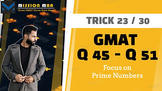 Trick 23 Focus on Prime Numbers