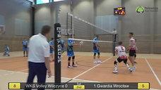 WKS Volley Wilczyce vs Chemeko-System Gwardia Wrocław