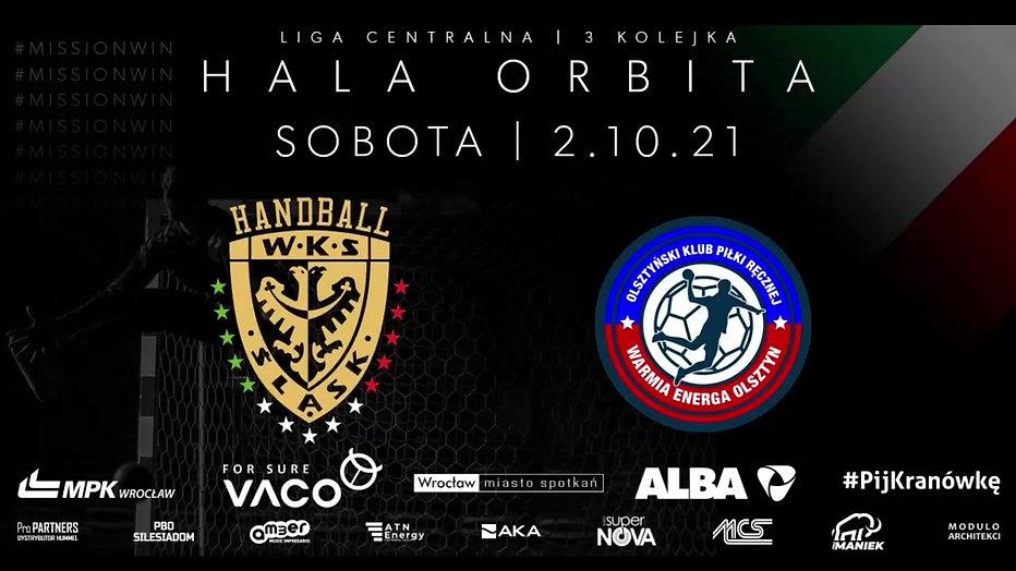Śląsk Wrocław Handball vs. Warmia Energia Olsztyn  / 3 kolejka