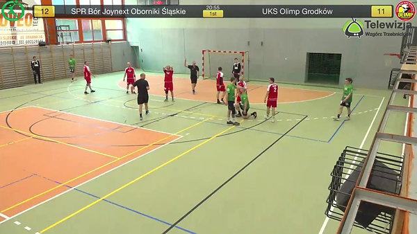 Mecze piłki ręcznej SPR Bór Oborniki Śląskie