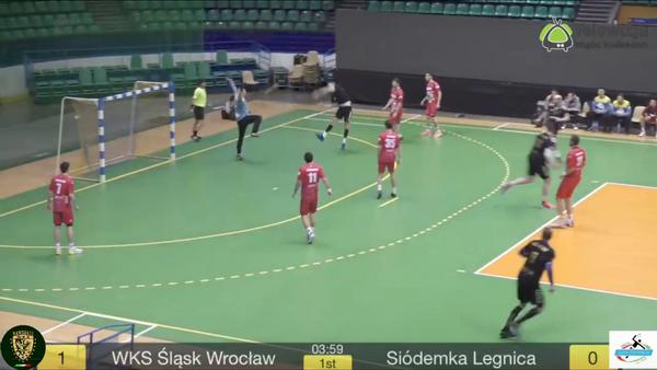 WKS Śląsk Wrocław vs. Siódemka Legnica