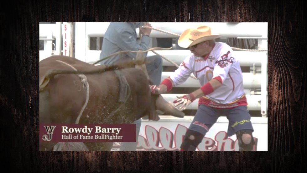 Hall of Fame Bullfighter Rowdy Barry