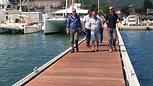Reception des travaux sur le port de Macinaggio