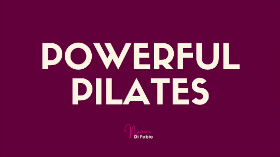 Powerful Pilates FitCamps
