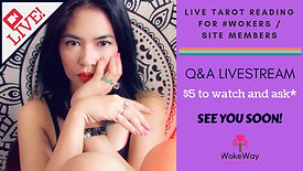 LIVE Tarot Reading Q&A