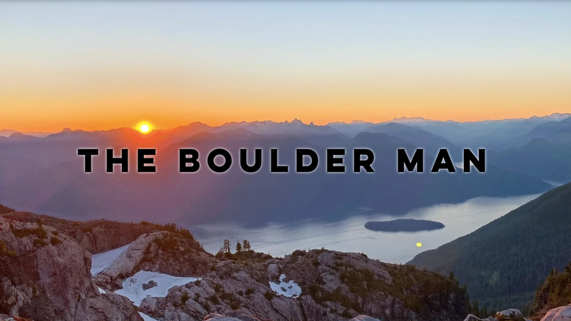 Welcome to The Boulder Man