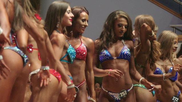 Hayley Meets The Body Building Queens