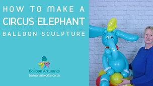 Circus Elephant Balloon Tutorial