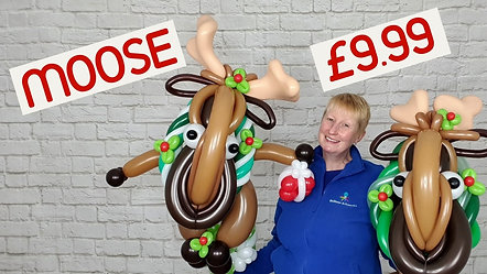 How to Make a Balloon Moose