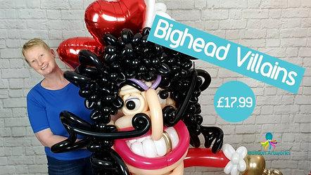Bighead Villains Balloon Tutorial Trailer