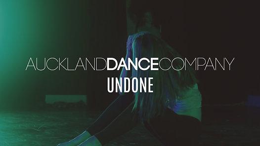Auckland Dance Company presents  Undone  - Lyrical Open Class