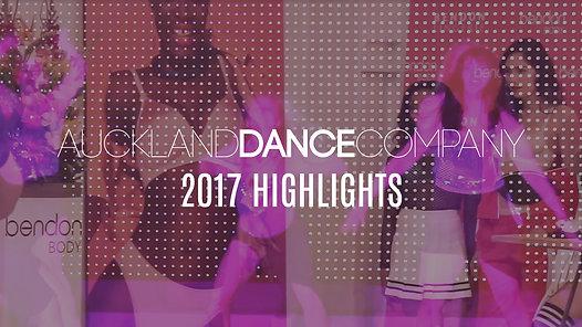 2017 HIGHLIGHTS REEL | Auckland Dance Company