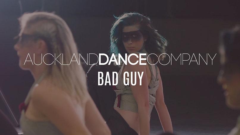 BAD GUY | Auckland Dance Company