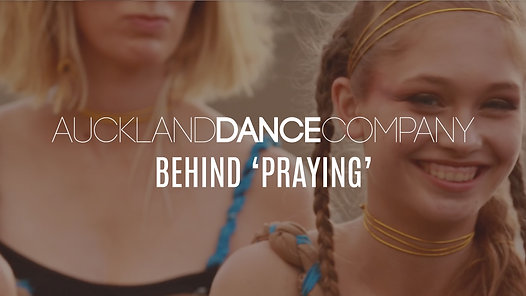 Auckland Dance Company presents  Praying  (Behind the scenes) - ADC Lyrical Students