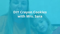 DIY Crayon Cookies