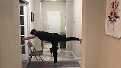 Chair Yoga Standing Poses