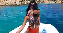 Отдых на Сардинии 2017 белорусской красавицы Юлии