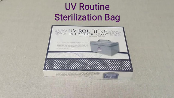 UV ROUTINE STERILIZER BAG