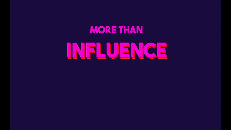 More Than Influence - An Introduction to Influencer Marketing