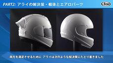 Arai的解决方案-追求头盔空气动力学的同时,不会在保护性方面有任何妥协