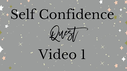 Self Confidence Course Video 1 - Growth Mindset
