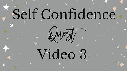 Self Confidence Course Video 3 - Action
