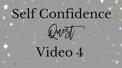 Self Confidence Course Video 4 - Overcoming Self doubt
