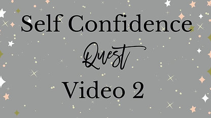 Self Confidence Course Video 2 Mindset Check up and Name your Inner Mean Girl
