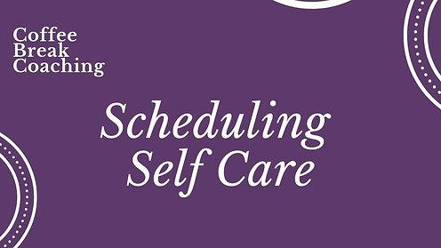 CBC - Self Care