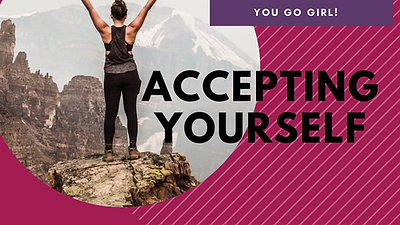 Glitter & Grace Journey - Accepting Yourself