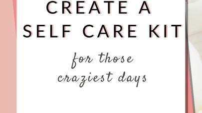 Glitter & Grace Journey - Self Care Kit