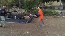 Тренировочный бой с учеником ломоносовской школы Иваном.