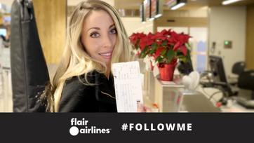 Flair Airlines Follow Me