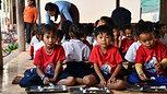 Mente Viva no Camboja + de 11 mil crianças atendidas
