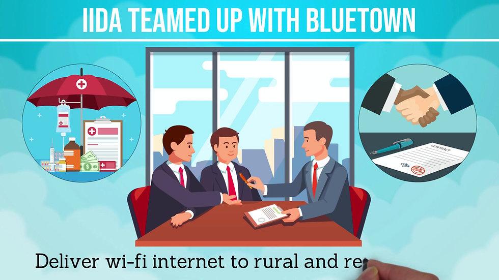 IIDA & BLUETOWN: Micro Insurance on WIFI