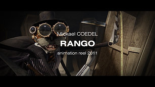 RANGO - Animation Reel - 2011