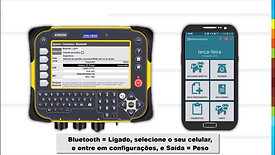 Conexão da Balança Tru-Test ID5000 com o app Landsoft Pecus